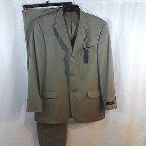 Perry Ellis Worsted Wool Suit 42R
